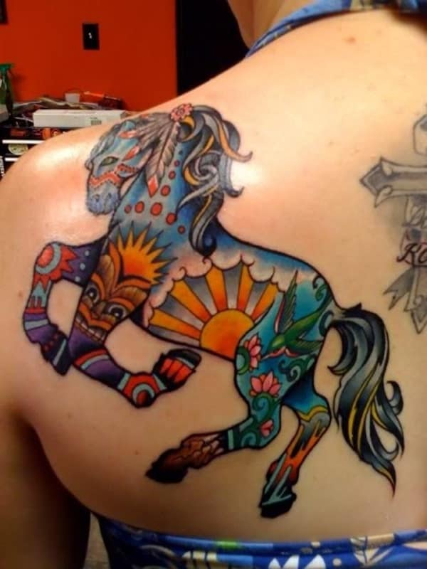 Amazing Horse Tattoo (25)