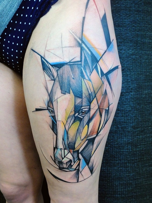 Amazing Horse Tattoo (27)