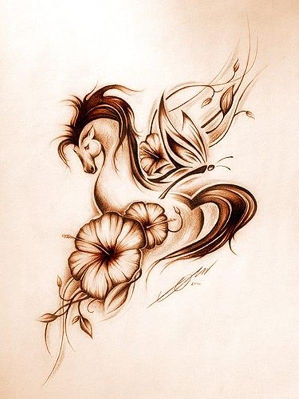 Amazing Horse Tattoo (3)