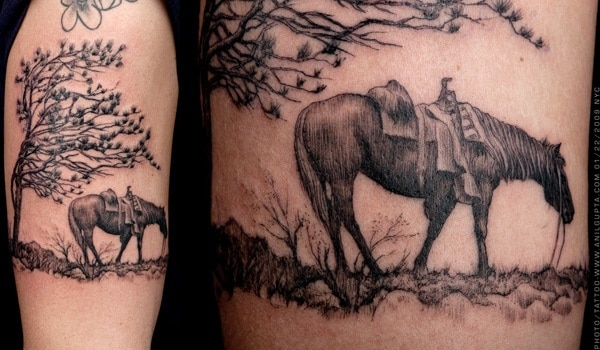 Amazing Horse Tattoo (37)