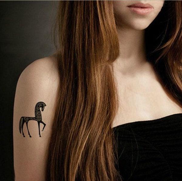 Amazing Horse Tattoo (5)