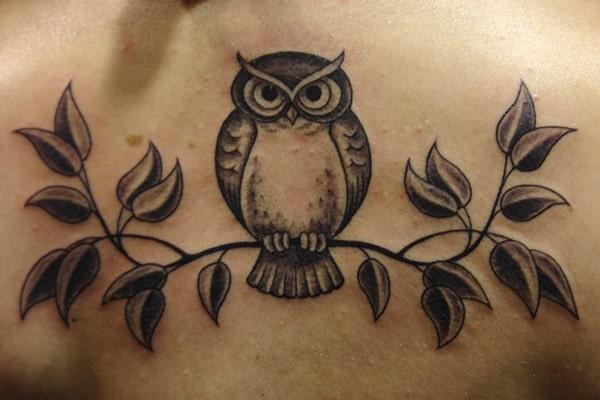 Beautiful Owl Tattoo (10)