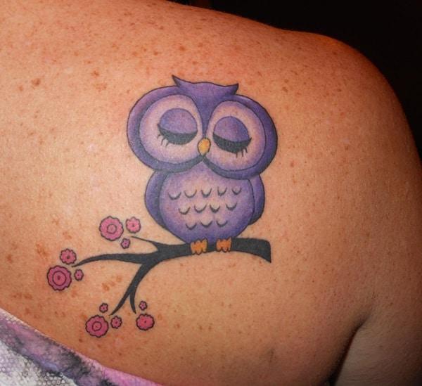 Beautiful Owl Tattoo (12)