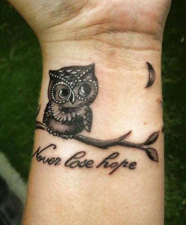 Beautiful Owl Tattoo (14)