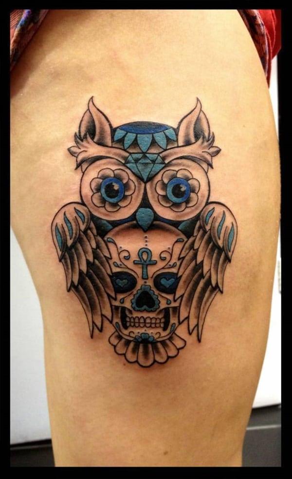 Beautiful Owl Tattoo (15)