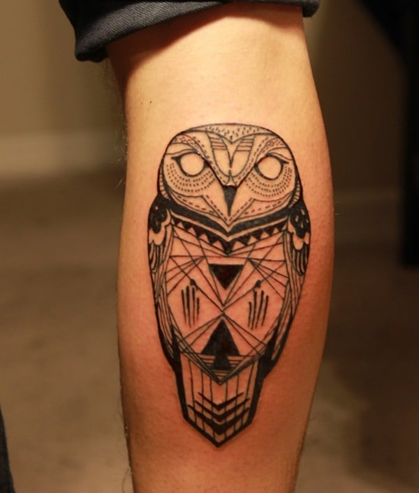Beautiful Owl Tattoo (2)