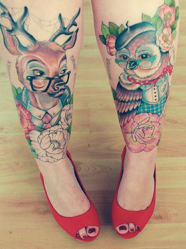 Beautiful Owl Tattoo (22)