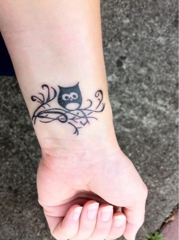 Beautiful Owl Tattoo (23)