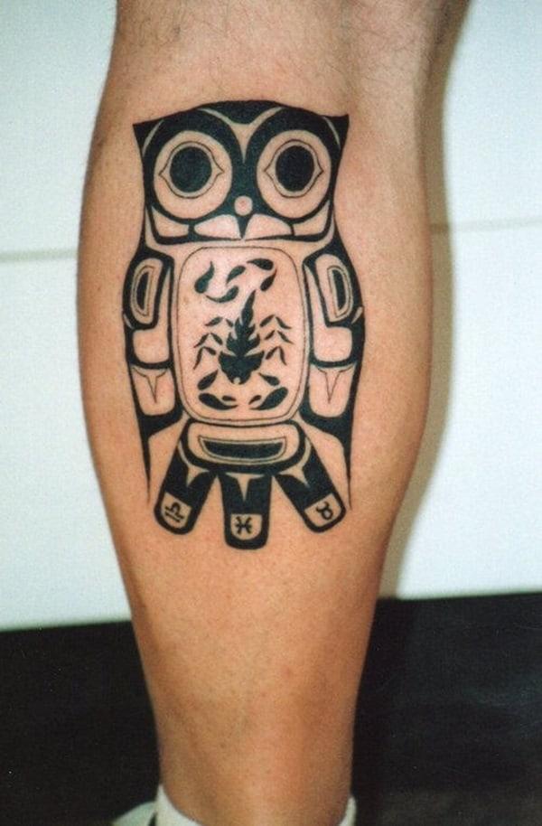 Beautiful Owl Tattoo (29)