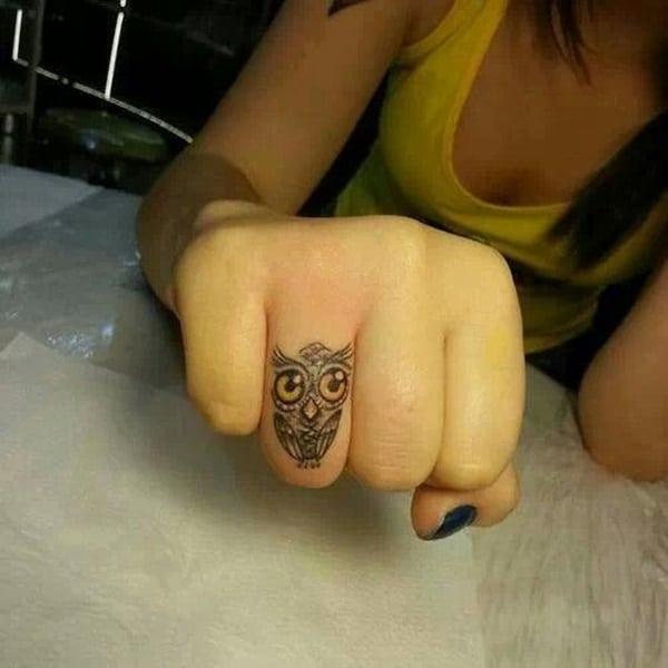 Beautiful Owl Tattoo (32)