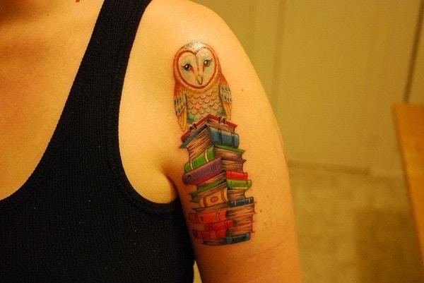 Beautiful Owl Tattoo (36)