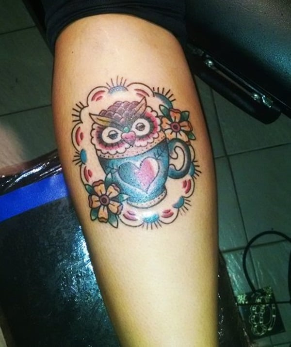 Beautiful Owl Tattoo (40)