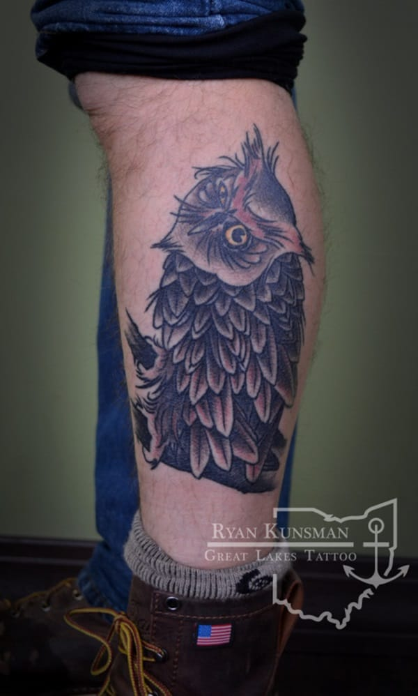 Beautiful Owl Tattoo (41)