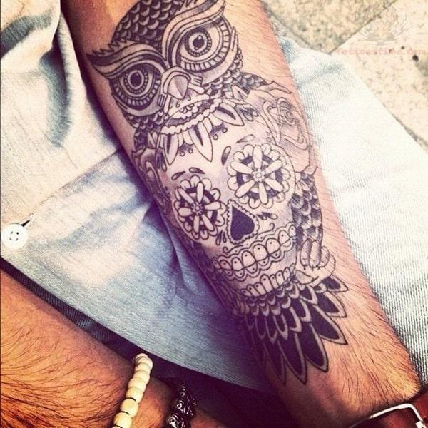 Beautiful Owl Tattoo (6)