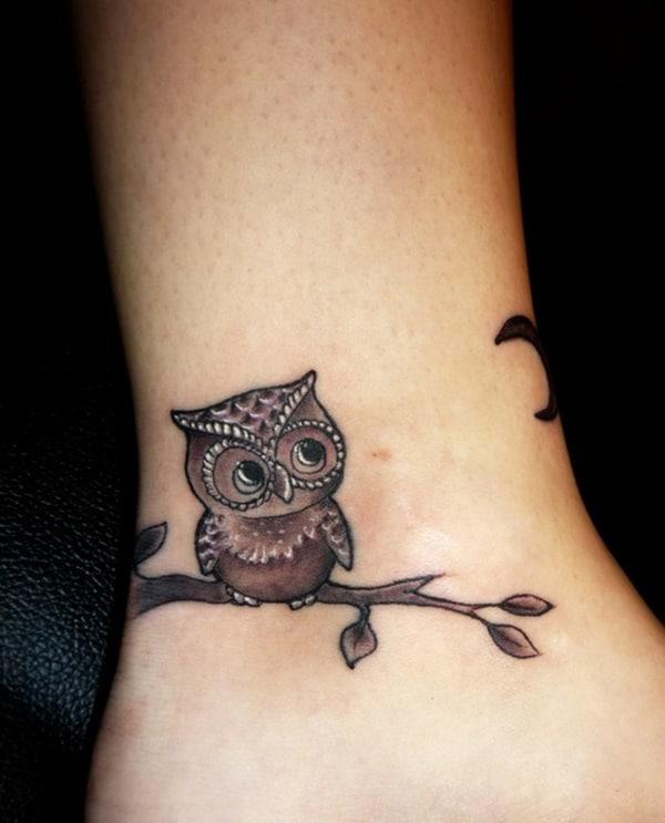 Beautiful Owl Tattoo (7)