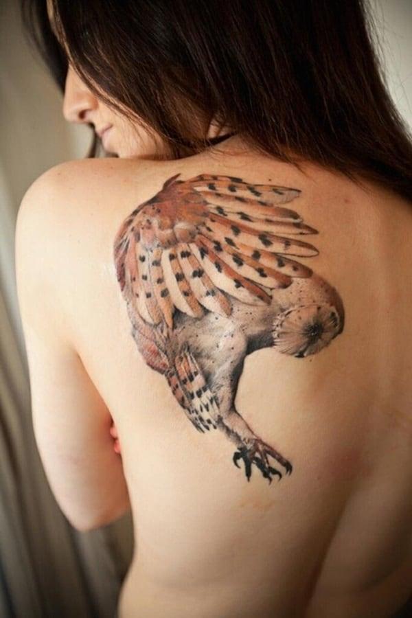 Beautiful Owl Tattoo (9)