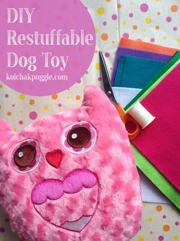 20 DIY Dog Toys you Can Make at Home 14
