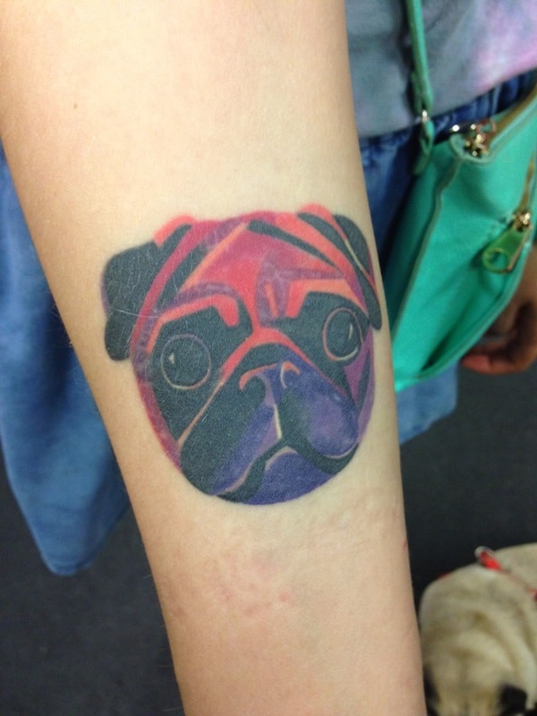 40 Pug Tattoo Pictures 25
