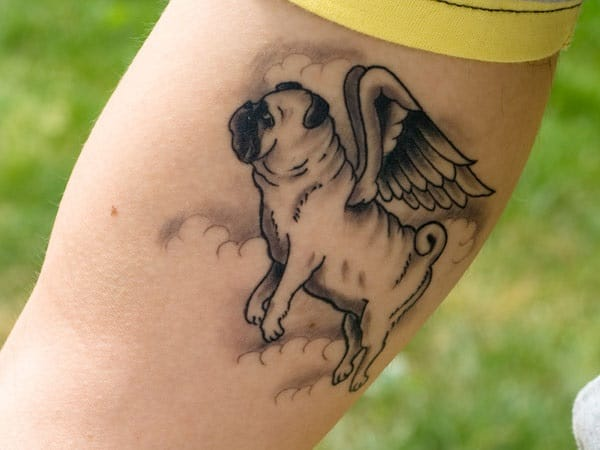 40 Pug Tattoo Pictures 3