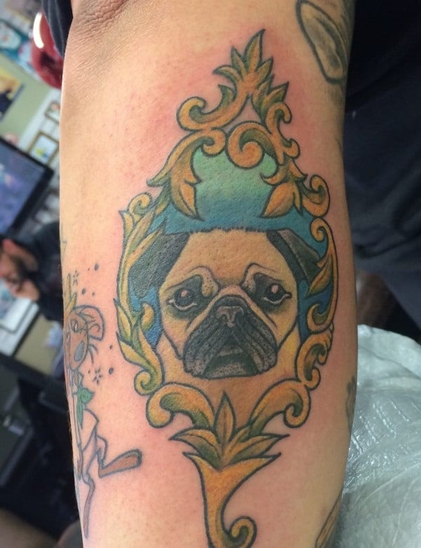 40 Pug Tattoo Pictures 30