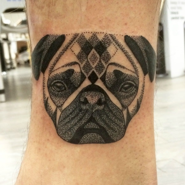 40 Pug Tattoo Pictures 37