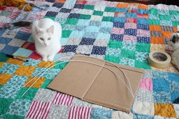 How to Make DIY Cat Tents 1