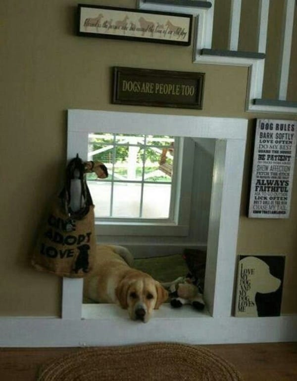 Great Ideas of Dog House Under Staircase 11