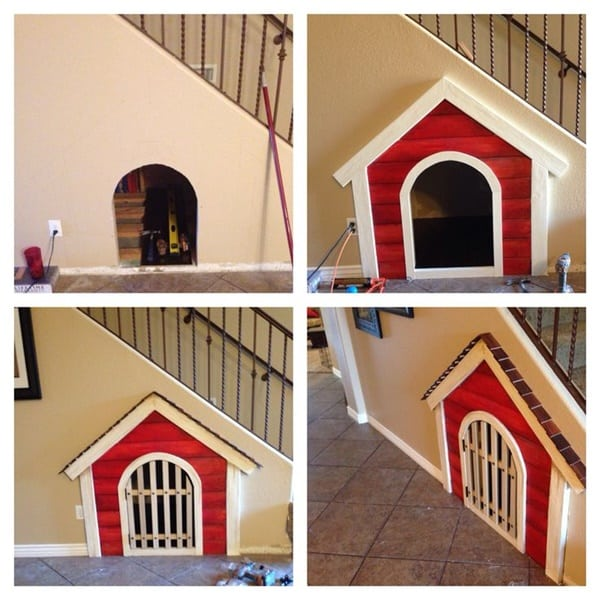 Great Ideas of Dog House Under Staircase 2