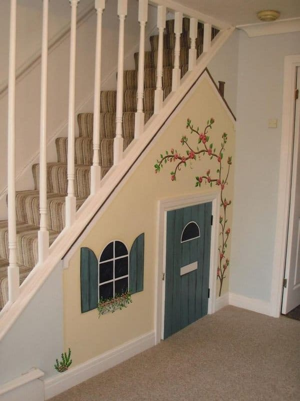 25 Great Ideas Of Dog House Under Staircase