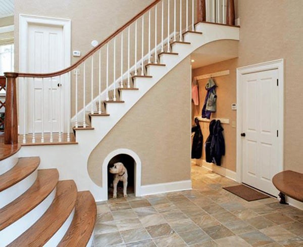 Great Ideas of Dog House Under Staircase 4