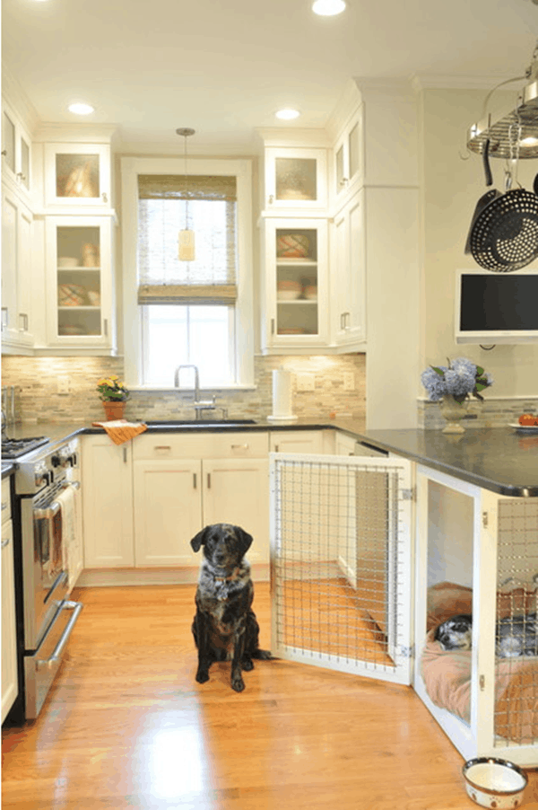 40 Comfy Large Dog Crate Ideas 10