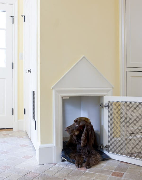 40 Comfy Large Dog Crate Ideas 12