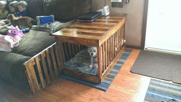 Do It Yourself Home Design: Top 40 Large Dog Crate Ideas In 2019