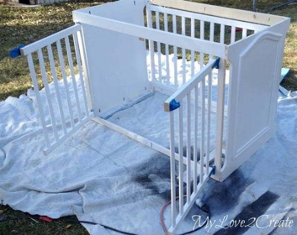 40 Comfy Large Dog Crate Ideas 20