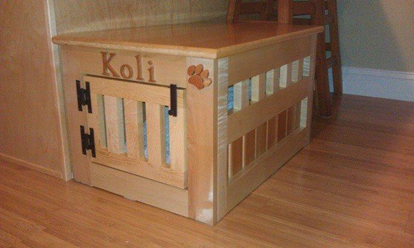 40 Comfy Large Dog Crate Ideas 23