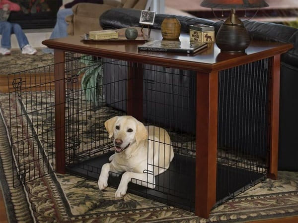 40 Comfy Large Dog Crate Ideas 24