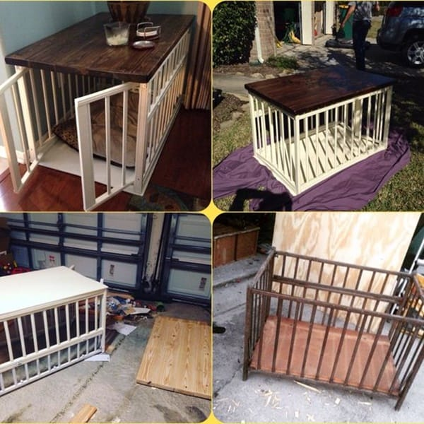40 Comfy Large Dog Crate Ideas 32