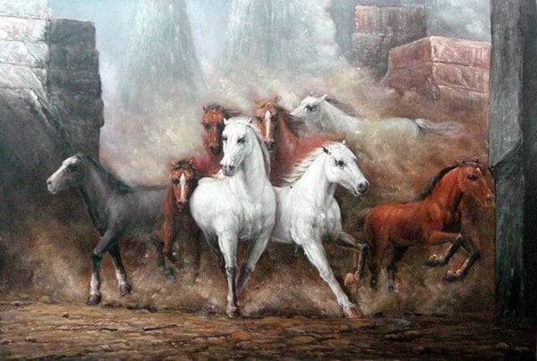 40 Outstanding Oil Painting on Animals 13