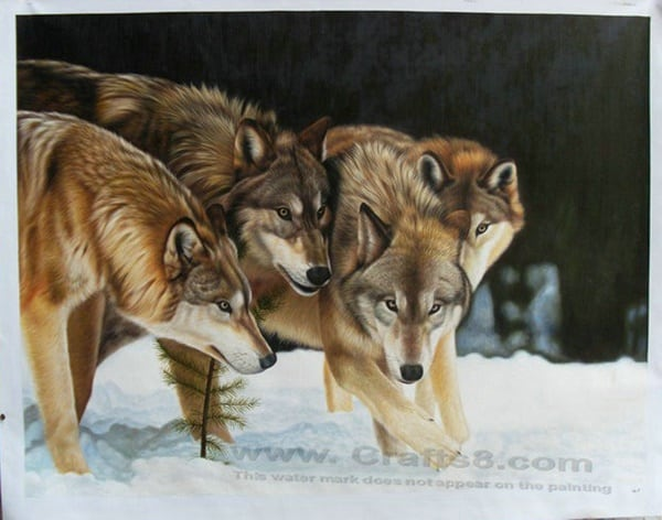 40 Outstanding Oil Painting on Animals 16