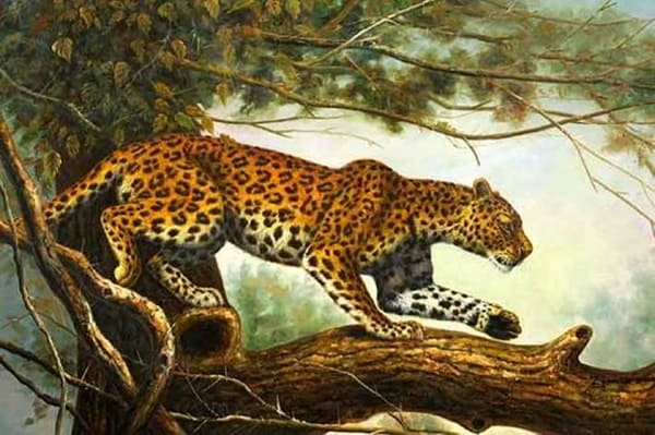 40 Outstanding Oil Painting on Animals 18