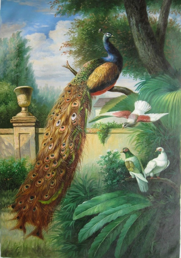 40 Outstanding Oil Painting on Animals 2