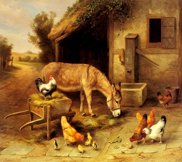 40 Outstanding Oil Painting on Animals 21