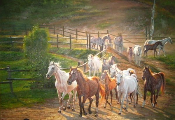 40 Outstanding Oil Painting on Animals 28
