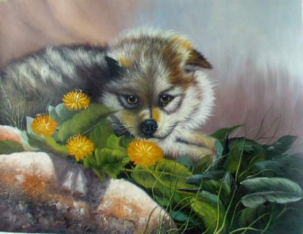 40 Outstanding Oil Painting on Animals 29