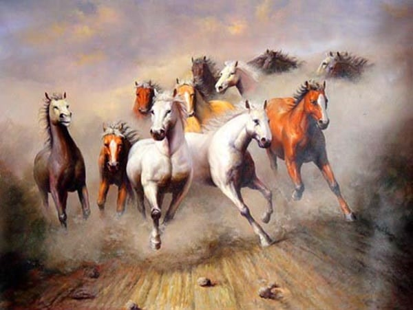 40 Outstanding Oil Painting on Animals 33