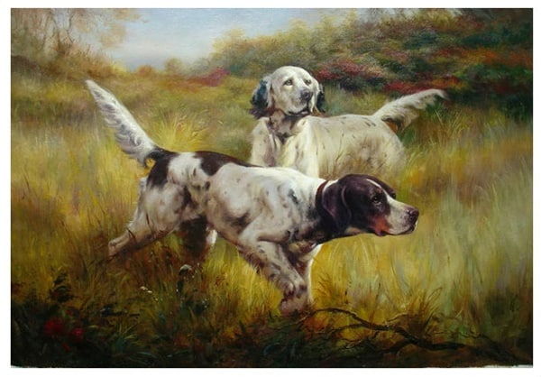 40 Outstanding Oil Painting on Animals 40