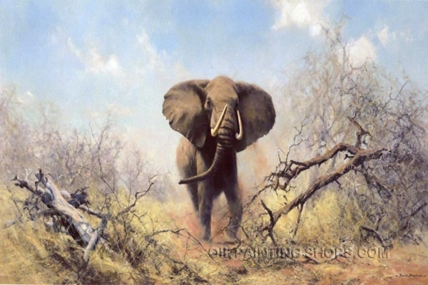 40 Outstanding Oil Painting on Animals 7