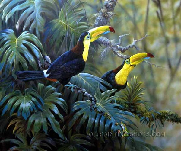 40 Outstanding Oil Painting on Animals 8