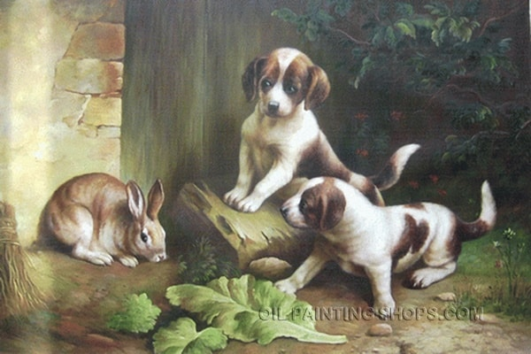 40 Outstanding Oil Painting on Animals 9