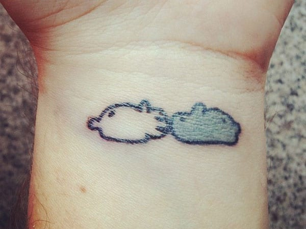 40 Cute and Small Rabbit Tattoo Pictures 18